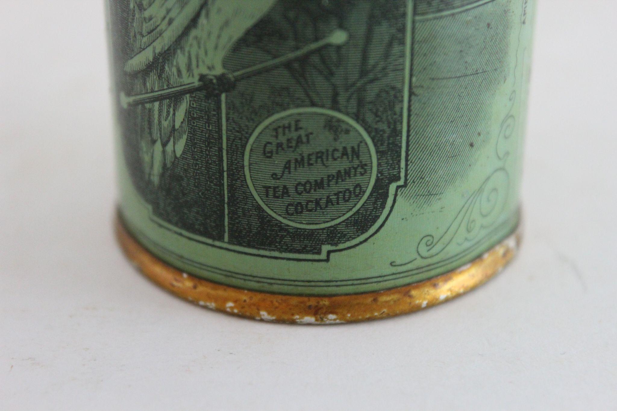 Great American Tea Company Cinnamon Spice Tin From
