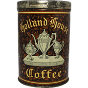 Vintage Holland House Coffee Tin