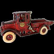 """Arcade IH """"Red Baby"""" Dump Truck"""