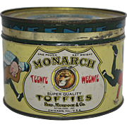 Monarch Toffies Tin featuring Teenie Weenie Characters