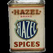 """Vintage """"Hazel"""" Brand Ginger Spice Container"""