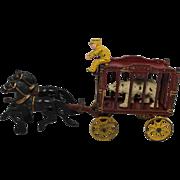 """Hubley Horse Drawn """"Royal Circus"""" Wagon"""