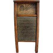 "Primitive ""Little Monarch""  Washboard"