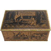 Vintage Pickwick Inn Candy Shop Tin