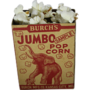 Burch's Jumbo Popcorn Sample Box