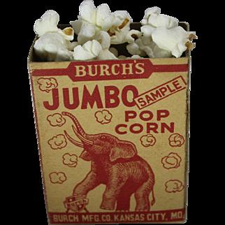 Burch's Jumbo Popcorn Sample Box