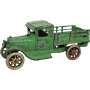 Arcade Cast Iron Stake Truck