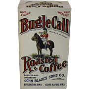 "Vintage ""Bugle Call"" Roasted Coffee Box"