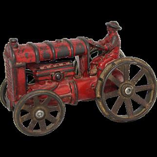 A.C. Williams Cast Iron Farm Tractor