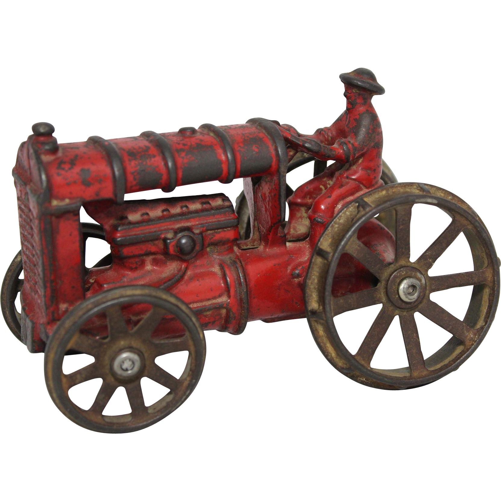 Iron Tractor Wheels : A c williams cast iron farm tractor from