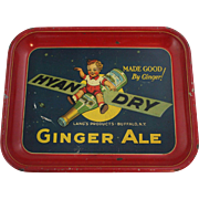 """Hyan Dry"" Ginger Ale Soda Tray"