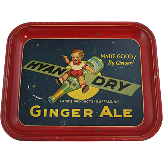 """""""Hyan Dry"""" Ginger Ale Soda Tray"""