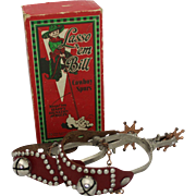 "Vintage ""LASSO'EM BILL"" Toy Cowboy Spurs"