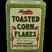 """Vintage """"Sanitas"""" (Kellogg) Toasted Corn Flakes Box"""