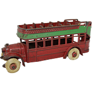 Kenton Cast Iron Double Decker City Bus