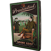 "Vintage ""Prudential"" Knit Sport Coat Box"
