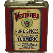 "Vintage ""Westerfield"" Spice Container"