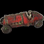 Hubley Cast Iron #7 Racing Car