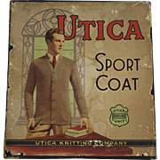 "Vintage ""Utica"" Sport Coat Box"