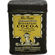 Very Small McNess Champion Breakfast Cocoa Tin