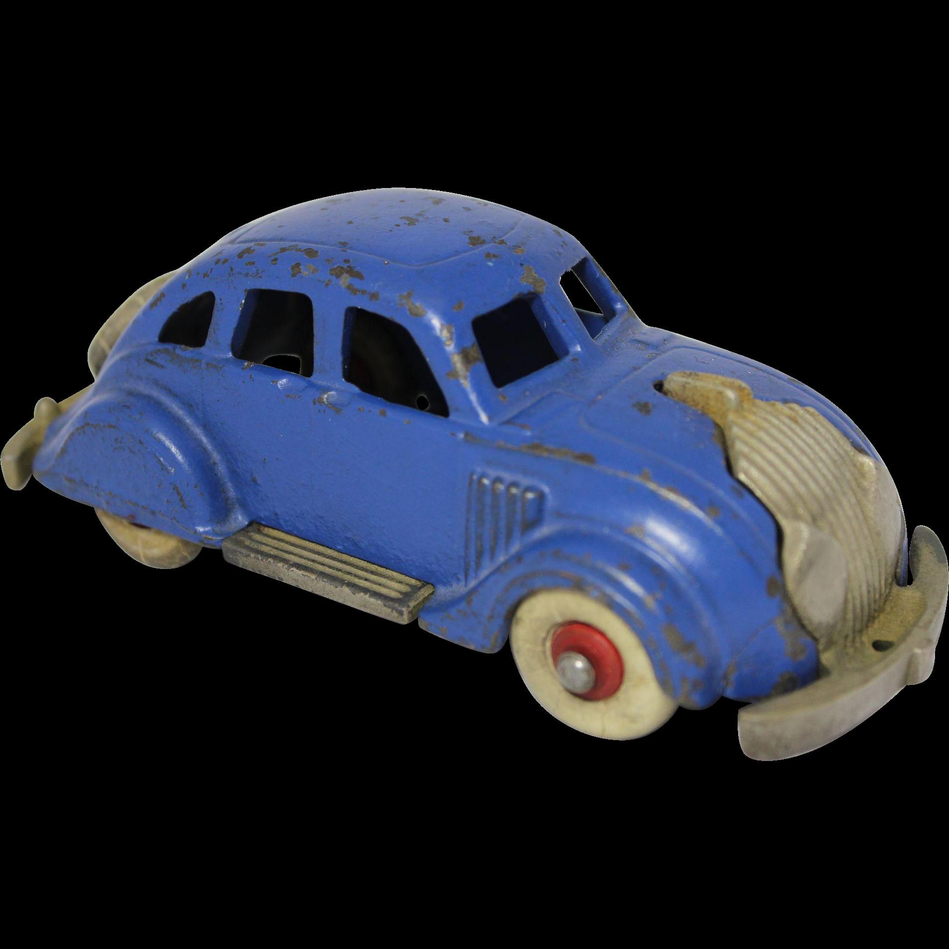 """Hubley 1935 Larger 6 1/4"""" Chrysler Airflow Sedan From"""