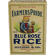 """Farmers Pride"" Blue Rose Rice Box"