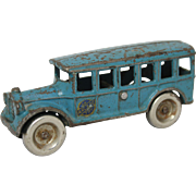 "Arcade 5"" Cast Iron Bus"