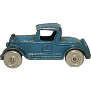 "Dent Hardware Co. Cast Iron Toy ""Roadster"""
