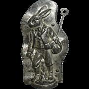 "Rare ""Anton Reiche"" Bavarian Rabbit Chocolate Mold"