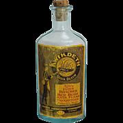 """Vintage """"Kwik Deth"""" Bug Poison Bottle"""