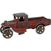 "Small Arcade Cast Iron ""Express"" Truck"