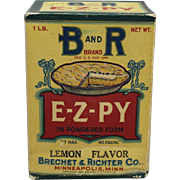 "1920's Unopened Box of B and R ""E-Z-PY"" Powder"