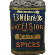 Vintage E.B. Millar & Co. Spice Container