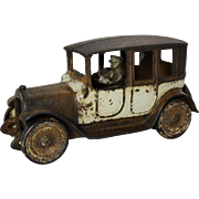 "1920's Arcade 9"" Brown & White Promotional Taxi"