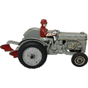 "1941 Cast Iron  8 1/2"" Arcade Ford Tractor and Plow"