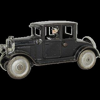 "Hubley Cast Iron 6 3/4"" Dodge Coup"