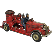 "Arcade 8 3/4"" Pontiac Pumper Fire Engine"