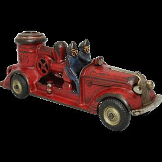 """Arcade 8 3/4"""" Pontiac Pumper Fire Engine"""