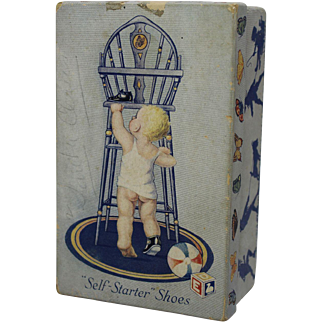 Vintage Child's Shoe Box