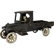 "Arcade 8 1/2"" Ford One Ton C-Cab Truck"