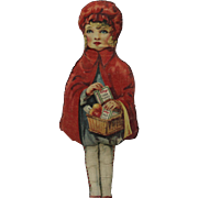 1928 Kellogg's Corn Flakes Red Riding Hood Doll