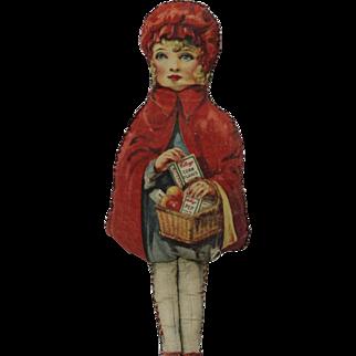 1928 Kellogg's Corn Flakes Red Riding Hood Doll