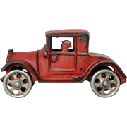 "1920's Cast Iron ""Walker-Stewart"" Sedan With Driver"