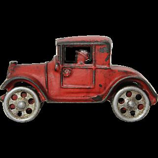 "1920's Cast Iron ""Walker-Stewart"" Sedan With Driver"