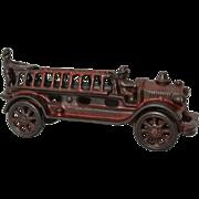 "Late 1920's A.C. Williams 7 1/2"" Long 2 Man Ladder Fire Truck"