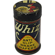 Whiz Anti Slip Brake Wafers Lithograph Tin