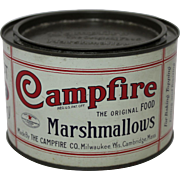 Smaller Campfire Marshmallows Litho Tin