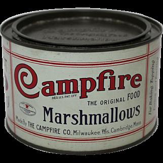 Smaller Campfire Marshmallows Litho Tin