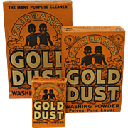 Three Asst. Fairbanks Gold Dust Washing Powder