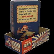 1941-1945 Powerhouse Candy Bar Box
